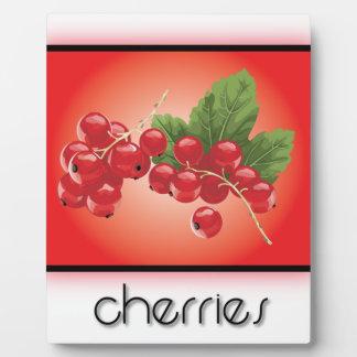 Cherries Plaques