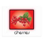 Cherries postcards