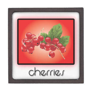 Cherries Premium Trinket Boxes