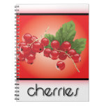 Cherries notebooks
