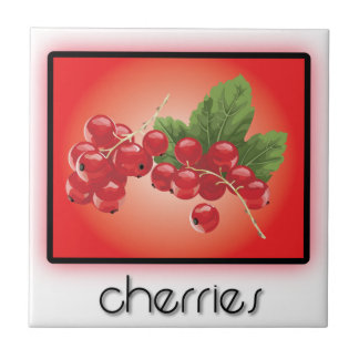 Cherries Tile