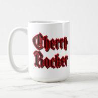 Cherry Rocker - White Mug