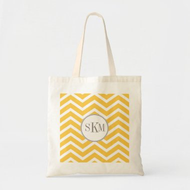 Chevron Monogram Personalized Tote bags