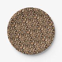 Cheetah Print Plates | Zazzle