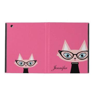 Chic Vintage Cat iPad 2/3/4 Powis Case - Pink