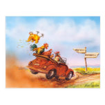 Chicken Run Postcard