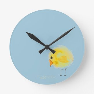 Chickie Round Clocks