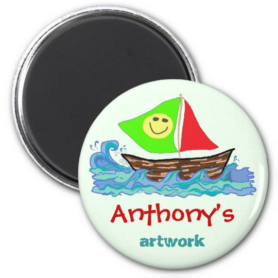 child s artwork personalized
