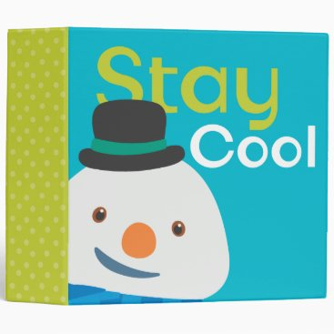 Chilly- Stay Cool 3 Binder