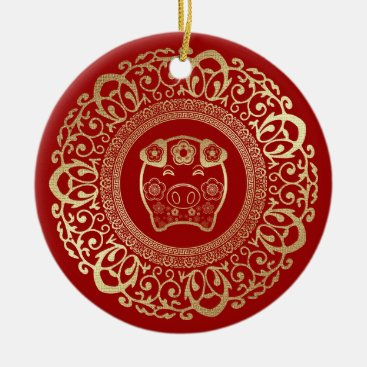 Chinese Year of the Pig Gift Ornaments