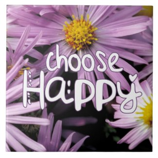 Choose Happy Tile