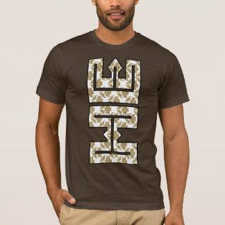 Christian Faux Glitter Gold HE in ME T-Shirt
