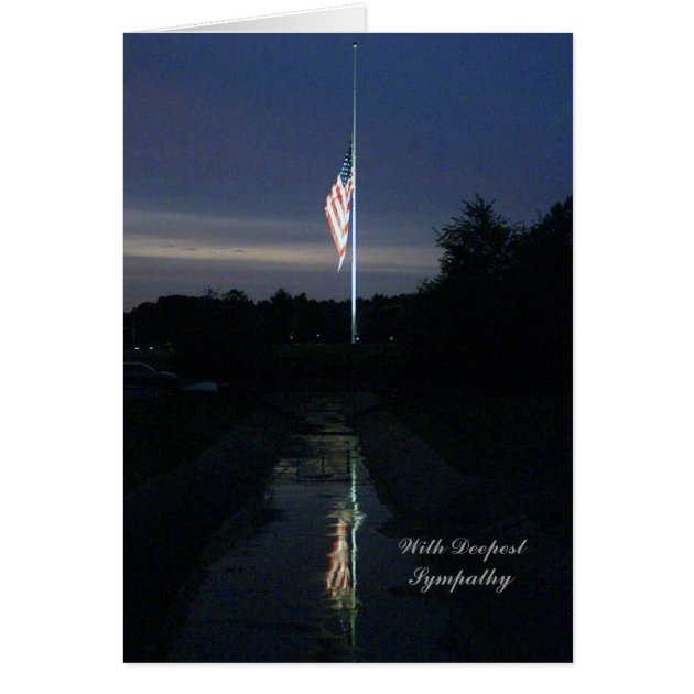 Christian Military Sympathy Card Zazzle Com