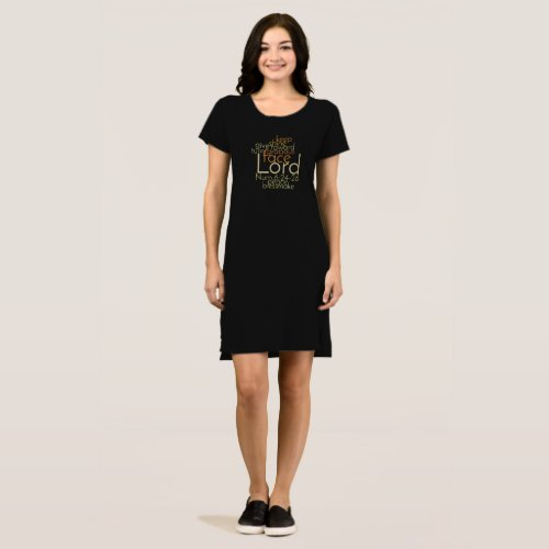 Christian Priestly Blessing Word Art Dress