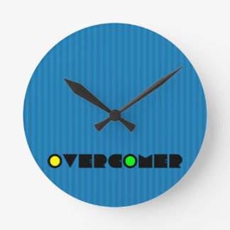 Christian Prophetic Spiritual Warfare OVERCOMER Round Clock