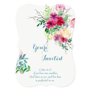 christian scripture romantic floral