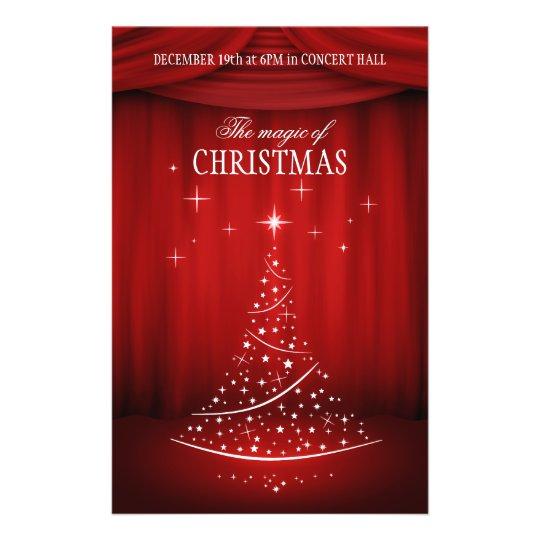 Christmas Concert flyer  Zazzlecom