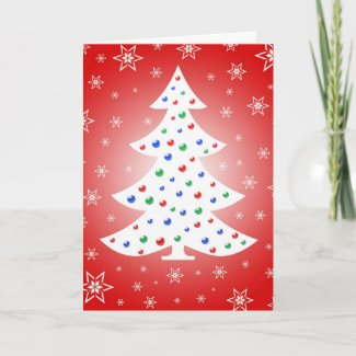 Christmas decoration - Card card