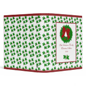 Christmas Holly Binder binder