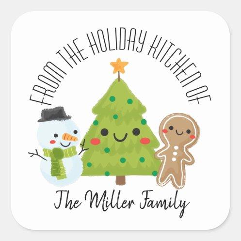 Christmas Homemade Baking Labels