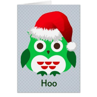Christmas Owl Trend Cards