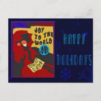 Christmas Toulouse (postcard) postcard