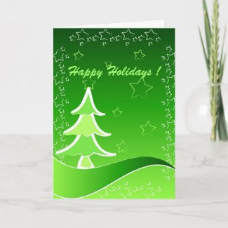 Christmas tree - Card card