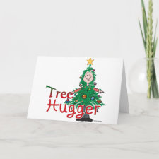 Christmas Tree Hugger Cards