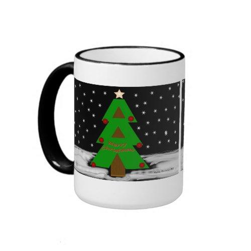 Christmas Tree Night Mug