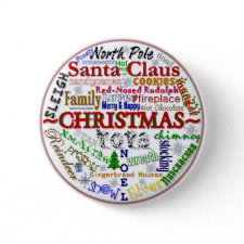 Christmas Word-Art - Button