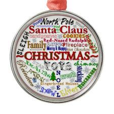 Christmas Word-Art - Ornament