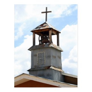 Church Bell Tower in Truchas, New Mexico Post Card