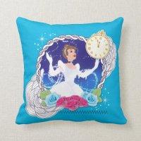 Cinderella - Princess Cinderella Throw Pillow | Zazzle