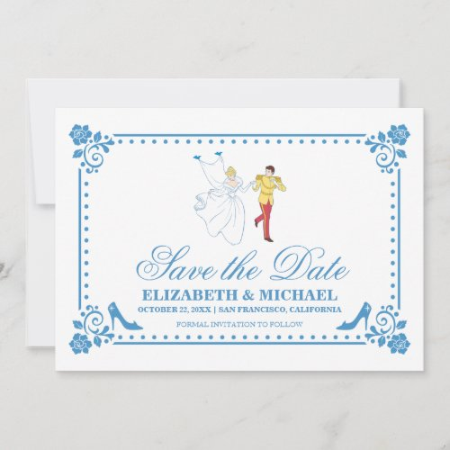 Cinderella Wedding   Save the Date