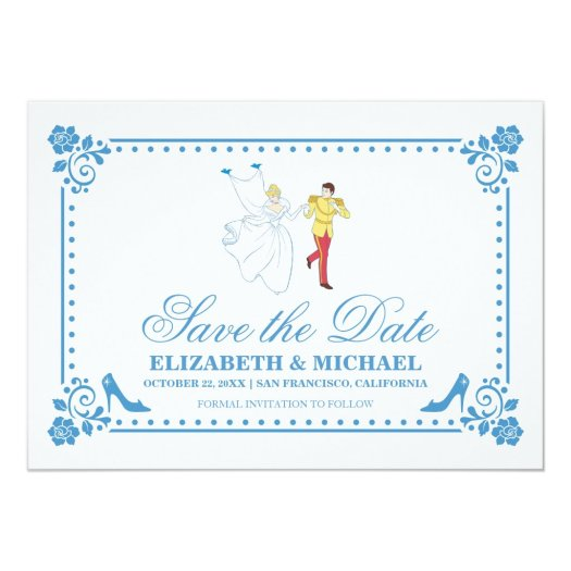 Cinderella Wedding | Save the Date Card