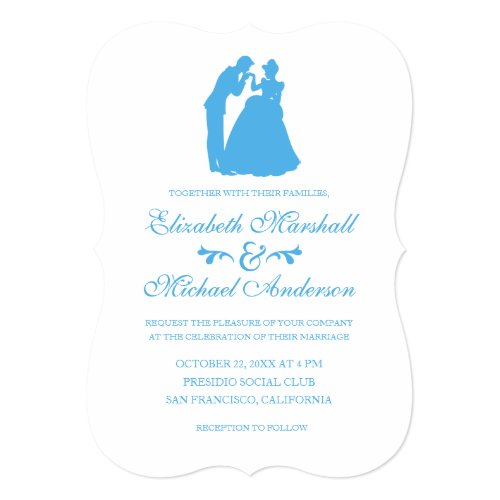 Cinderella Wedding | Silhouette Invitation