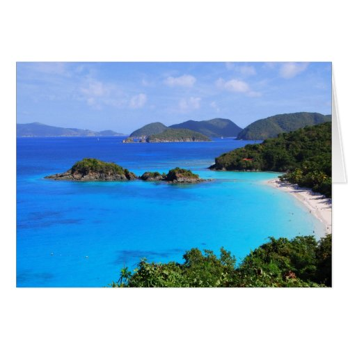 Cinnamon Bay Beach, St. John, U.S. Virgin Islands card