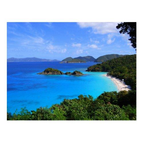 Cinnamon Bay, St. John, U.S. Virgin Islands Postcard