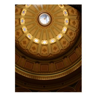 Circles (Dome) Post Cards