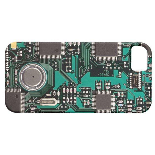 Circuit Board Iphone 5 Cover Zazzle