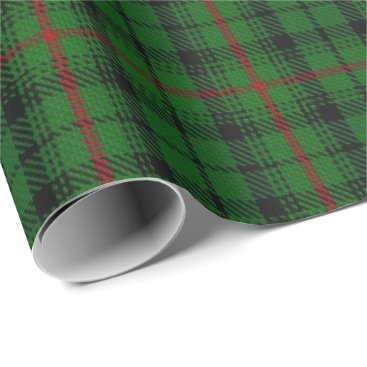 Clan Urquhart Scottish Tartan Wrapping Paper
