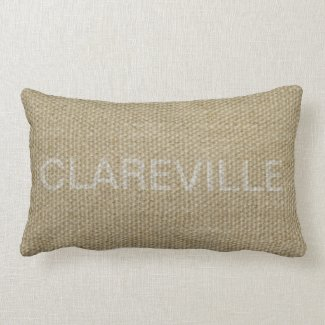 Clareville lumbar cushion