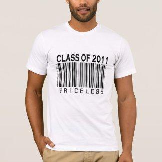 Class of 2011: Priceless - Barcode - Shirt shirt