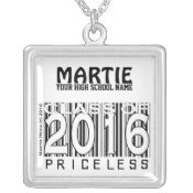 Class of 2016: Priceless (Personalize) Necklace