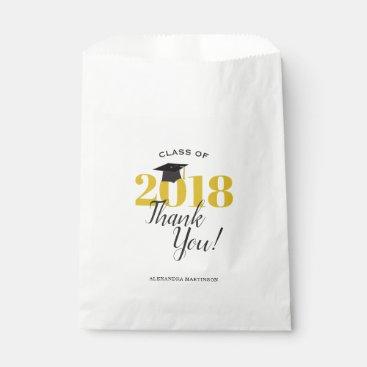 Class of 2018 Graduation Thank You Favor Bag
