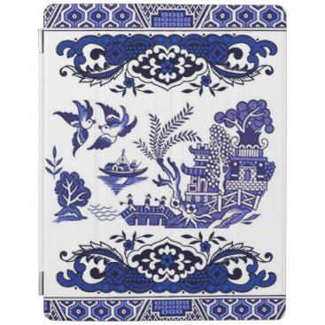 Classic Blue Willow Design iPad Smart Cover