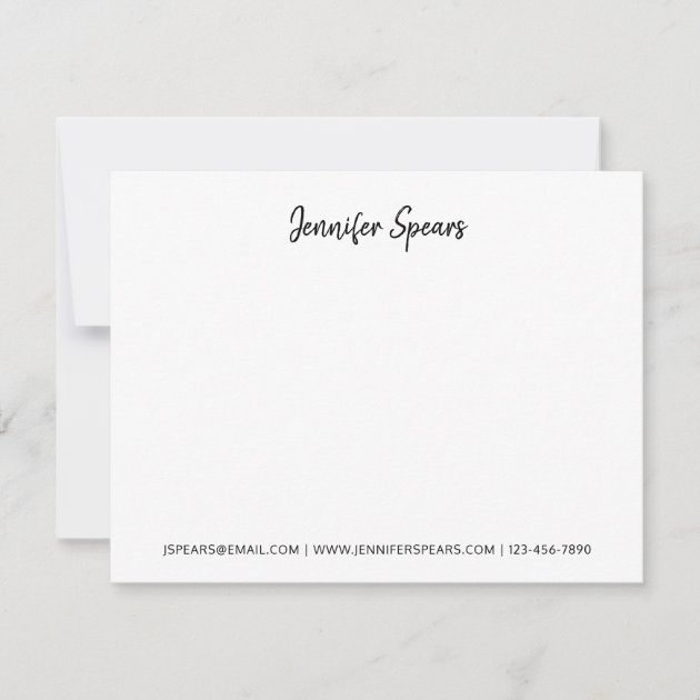 Handwritten Baptism Invitations