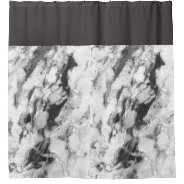 classic marble shower curtain zazzle com