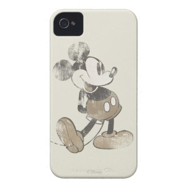 Classic Mickey | Distressed Case-Mate iPhone 4 Case