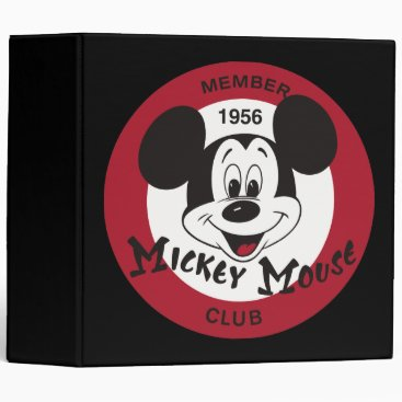 Classic Mickey | Mickey Mouse Club Binder